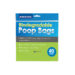 Ancol Eco Friendly Biodegradable Dog Poop Bags - 200 bags (5 packs)