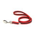 Color & Gray Super-Grip Julius K9 Leash with Handle & Carabiner Clip - Red, 1 M / 3.3 Ft, 20 Mm / 0.79 In