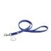 Color & Gray Super-Grip Julius K9 Leash with Handle & Carabiner Clip - Blue, 1,2 M / 3.9 Ft, 20 Mm / 0.79 In