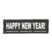 Julius-K9 Harness Patches - HAPPY NEW YEAR!, Large
