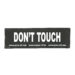 Julius-K9 Harness Patches - DON'T TOUCH, Large