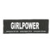 Julius-K9 Harness Patches - GIRLPOWER, Large