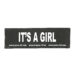 Julius-K9 Harness Patches - IT'S A GIRL, Large