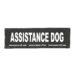 Julius-K9 Harness Patches - ASSISTANCE DOG, Large