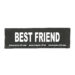 Julius-K9 Harness Patches - BEST FRIEND, Small