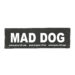 Julius-K9 Harness Patches - MAD DOG, Large