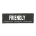 Julius-K9 Harness Patches - FRIENDLY, Large