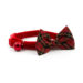 Ancol Vintage Bow Cat Safety Collars - Red