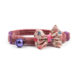 Ancol Vintage Bow Cat Safety Collars - Pink
