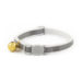 Ancol Safety Buckle Reflective Cat Collar - Silver