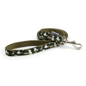Camouflage-Inspired Dog Lead