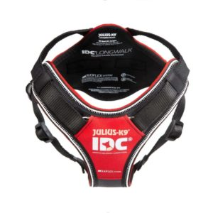 Julius K9 IDC Longwalk dog harness