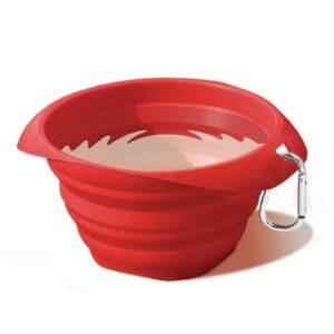colapsible dog bowl