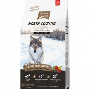 Grain-Free Dry Dog Food Natura Wild North Country: poultry, duck & turkey - 12 Kg