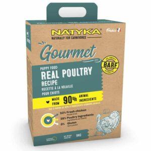 Natyka Gourmet Gluten Free Puppy Food - 9 kg (3 x 3kg)