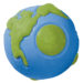 Planet Dog Orbee-Tuff Orbee Ball - Blue and Green, Large
