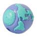 "Planet Dog Balls - Planet Dog Pup Orbee-Tuff Ball - Purple/Teal, big pup (3¼"" diameter)"