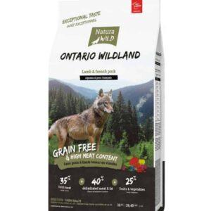 Grain Free Dog Food Natura Wild: Ontario Wildland Adult Dry Food - 12 Kg
